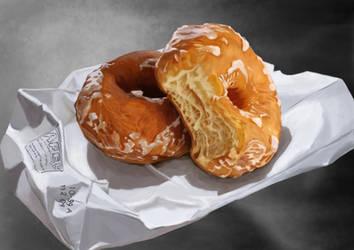 doughnut by onewayprophet