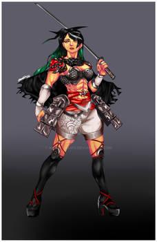 Ha-Tsuchin: Custom Character from Soul Calibur