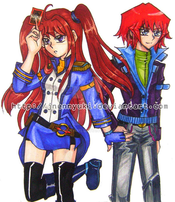 Shizuka and Jun by Jnennyuki