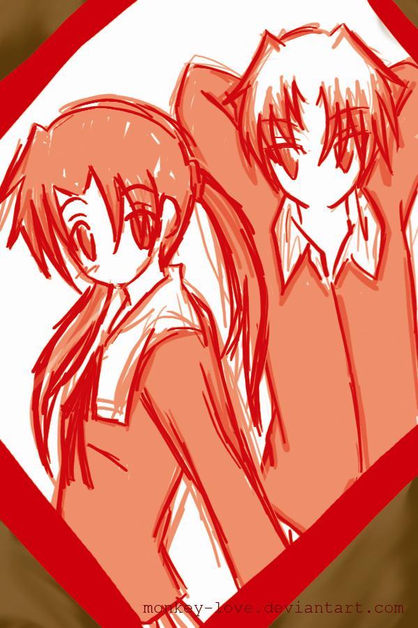 MINATSU: doodle by m0nkey-love