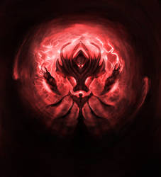 Dark Archon (Red) by LucienFreiheit