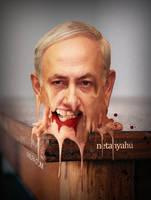 Netanyahu by Aheney