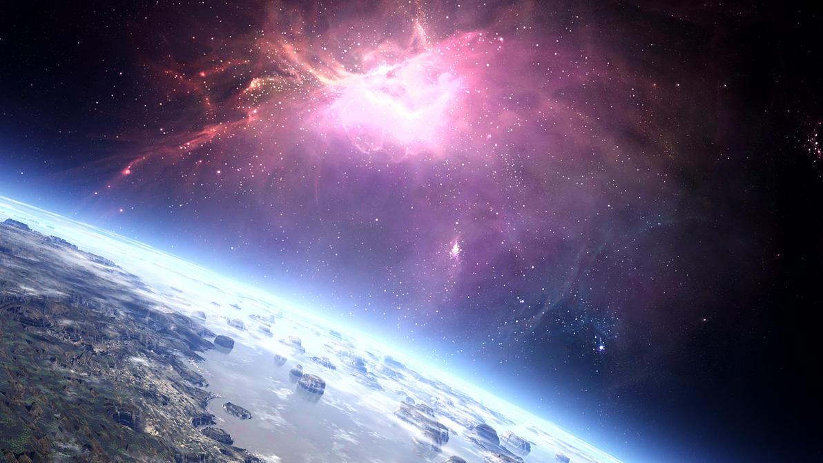 Space wallpaper by SvyatLee