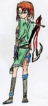 Ninja Girl With Awesome Sword