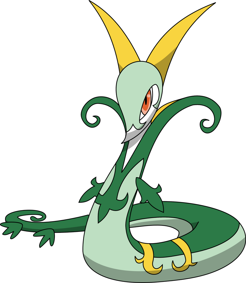 497 Serperior by PkLucario on DeviantArt