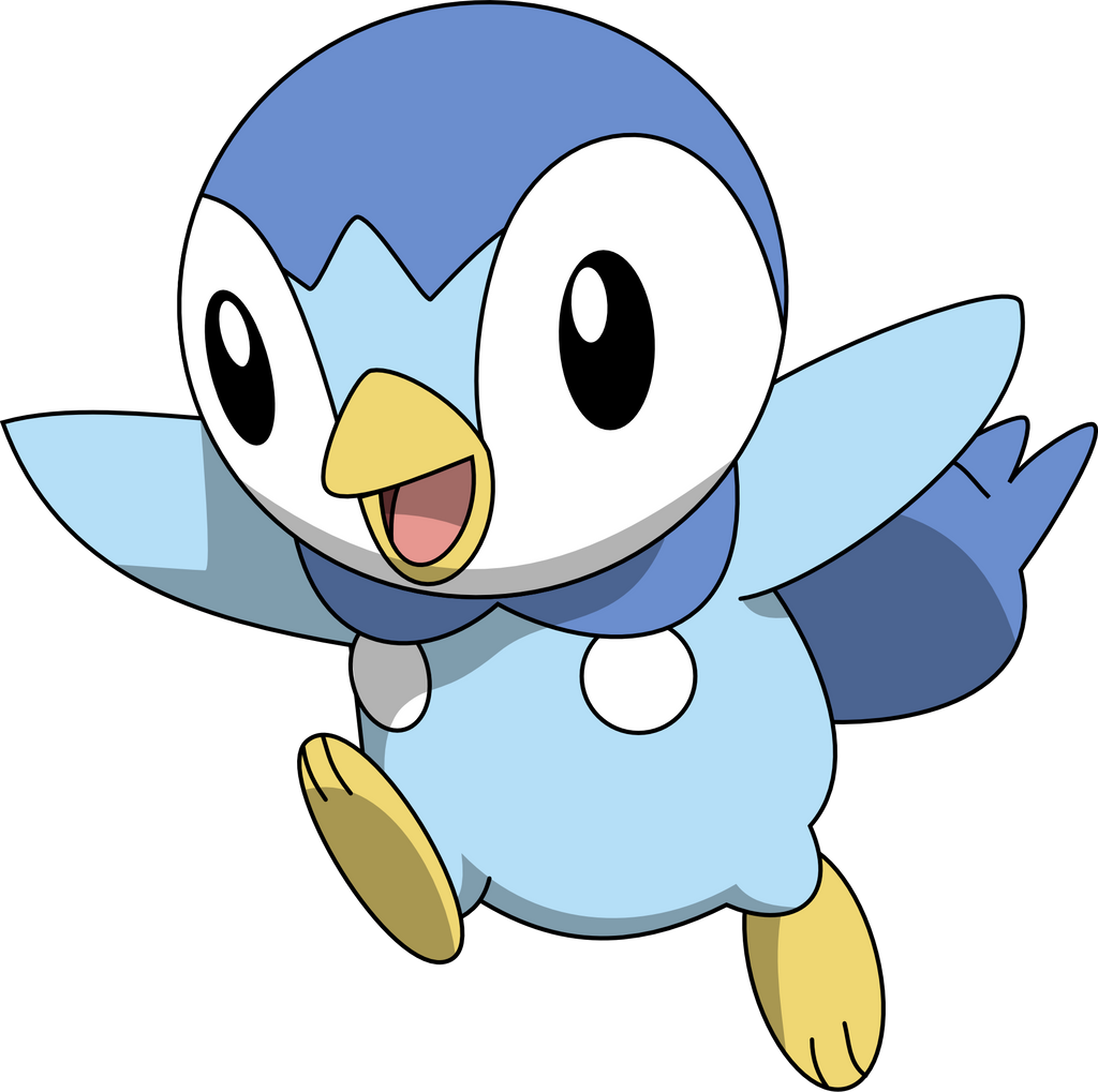 download pokemon starters piplup - photo #1