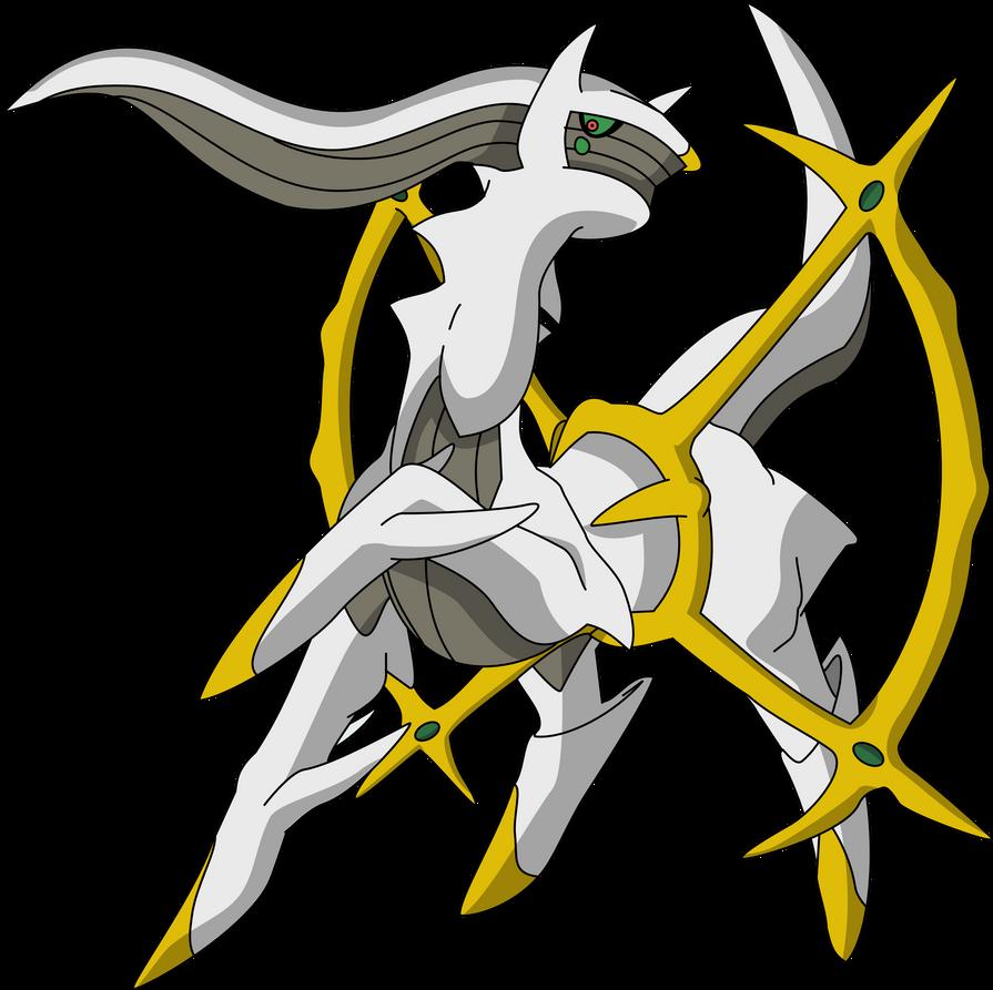 Pokemon Arceus Shiny 493 arceus by pklucario
