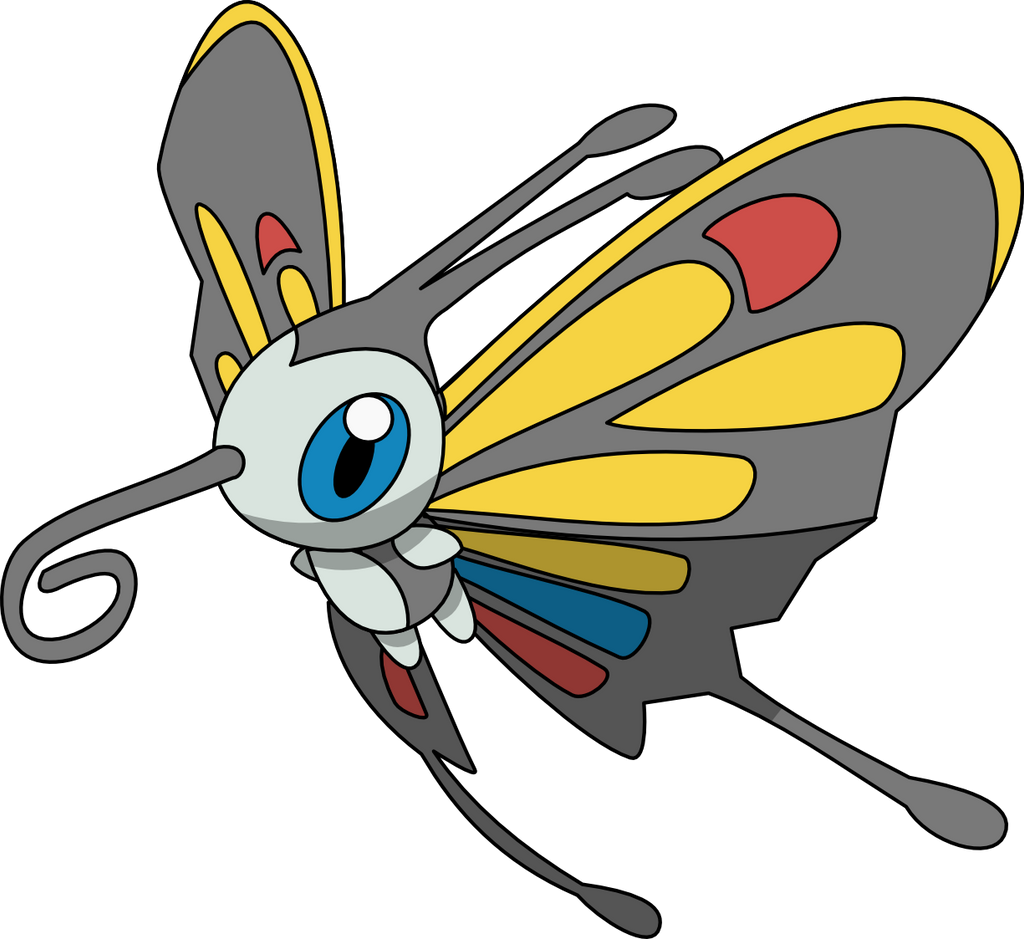 Beautifly Pokemon Evolution 267 Beautifly by PkLucario