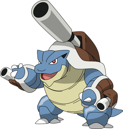 009 mega blastoise by pklucario on deviantart - Pokemon tortank mega evolution ...