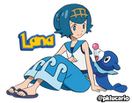 Lana (Anime) - Pokemon Sun and Moon