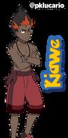 Kiawe (Anime) - Pokemon Sun and Moon