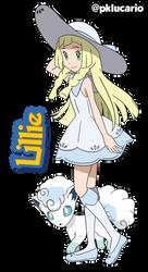 Lillie (Anime) - Pokemon Sun and Moon