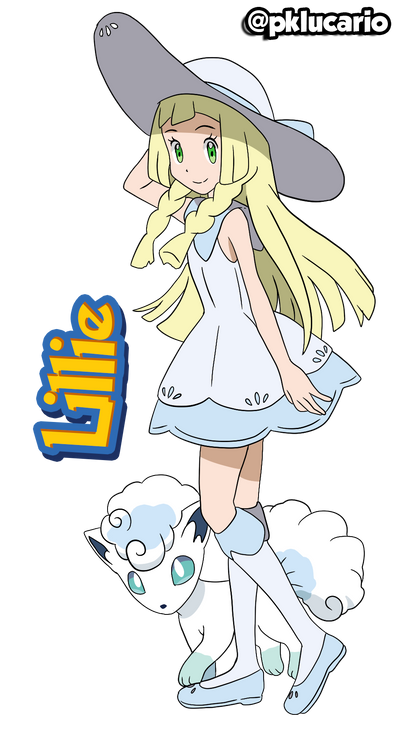 Lillie (Anime) - Pokemon Sun and Moon by PkLucario