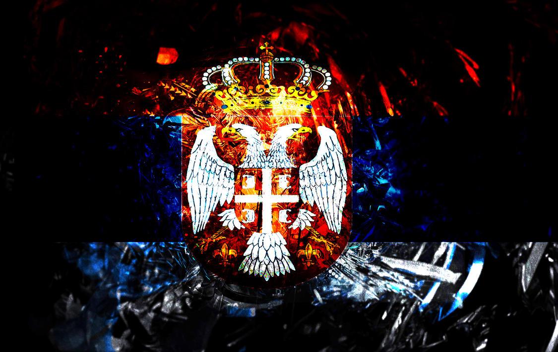 Serbian Eagle Wallpaper