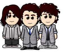 The Jonas Brothers as WeeMees by CrazyCartoonGirl