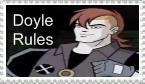 Doyle Stamp by CrazyCartoonGirl