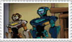 Jetfire and Jetstorm Stamp by CrazyCartoonGirl