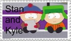 Stan and Kyle Stamp