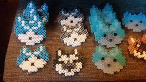 hama beads magnet