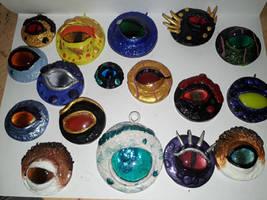 dragon eye magnets and pendants