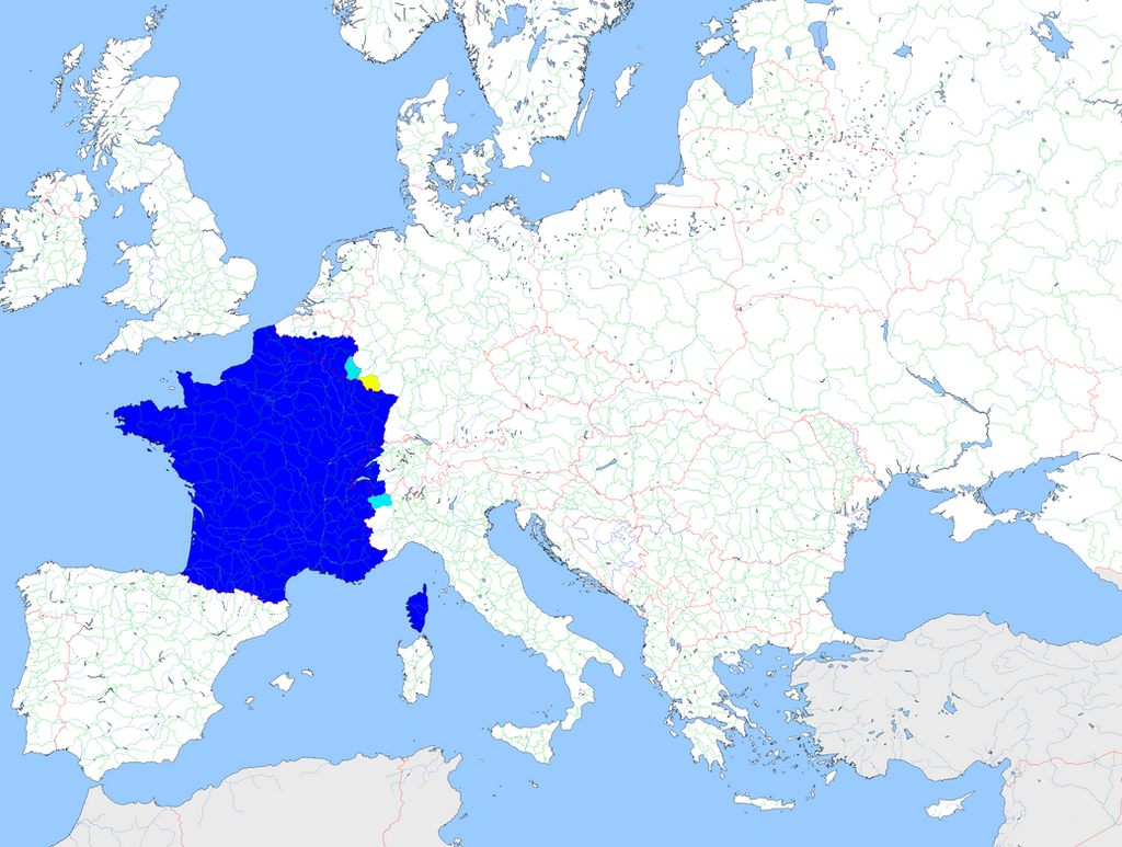 Frenchspeaking area in Europe by Rheinbund on DeviantArt