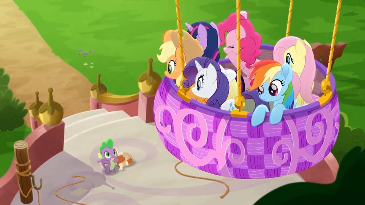 My Little Pony - Rainbow Roadtrip Wallpaper#12