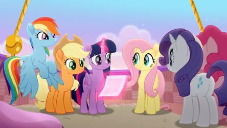 My Little Pony - Rainbow Roadtrip Wallpaper #14
