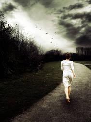 Keep Running Away by kassieadelaide