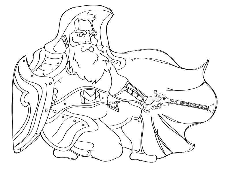 Sketch-dwarf-b by InktstrijdeR