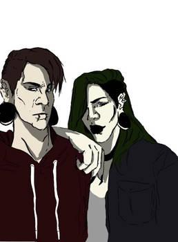 [OC] Ike and Mido