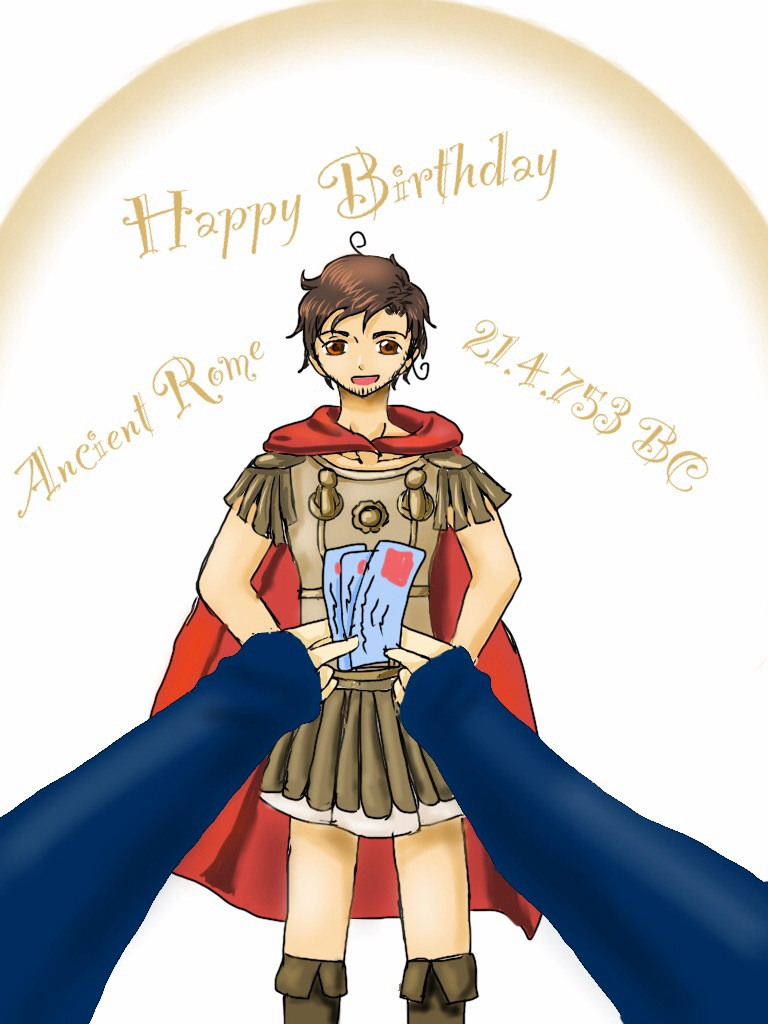 aph happy birthday ancient rome 21 4 753 bc by xxjustforfunxx on