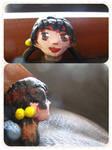 Self-made Kaai Yuki head by xXJustForFunXx