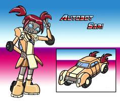 Autobot Sari by Annie13