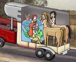 Horsetrailer 2