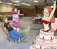 Robin's Birthday 'gift' by Annie13