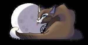 Moonlit blep