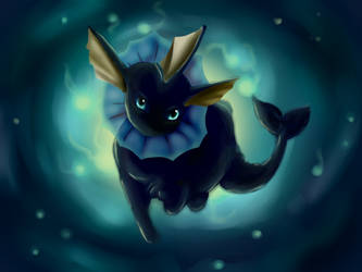 vaporeon may contest by shugo-89