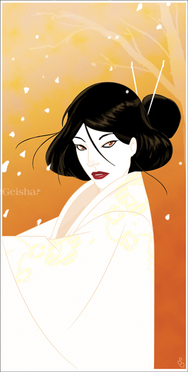 Geisha by shindra1th