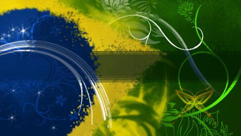 Brazilian flag by leaod