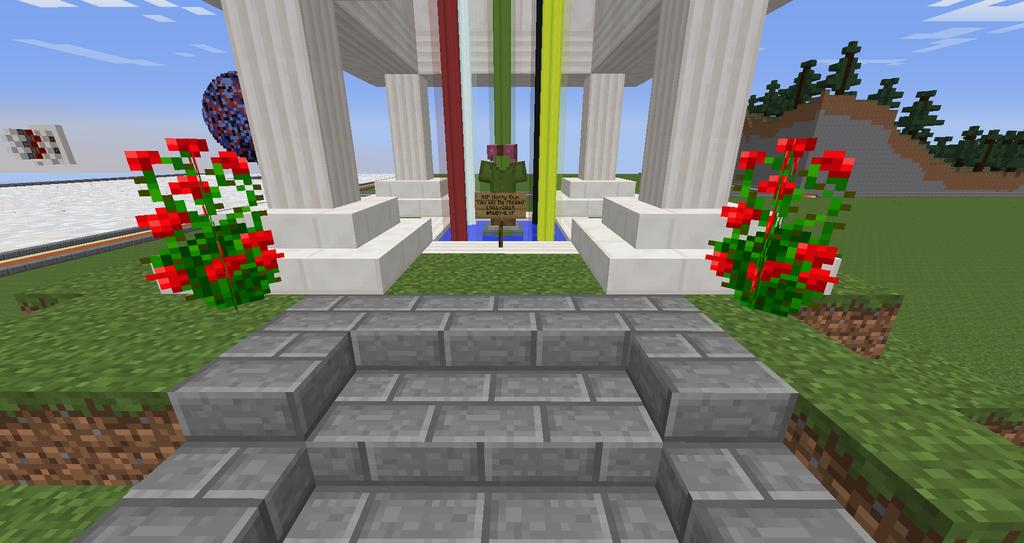 Minecraft Monumet to Monty Oum by stringbeanninja