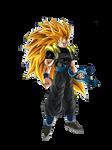Super Saiyan 3 Gogeta(Xeno) render