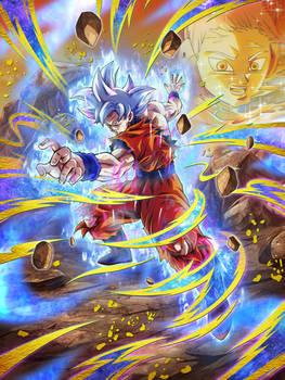 Ultra Instinct Goku - Dokkan Battle UR card