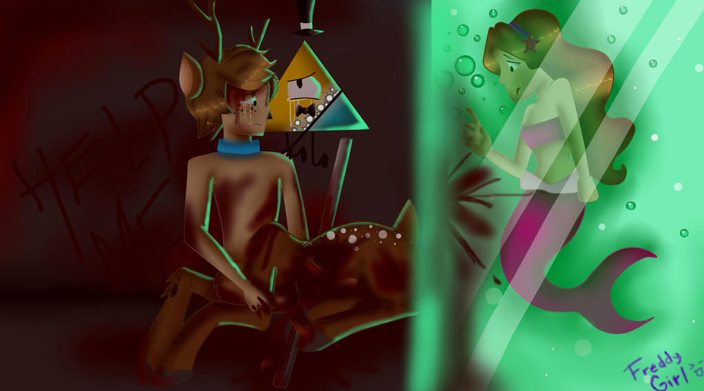 dippe y Mabel Mounstros (1) by Freddygirl17