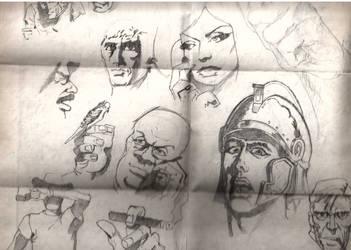 Human Face Closeups