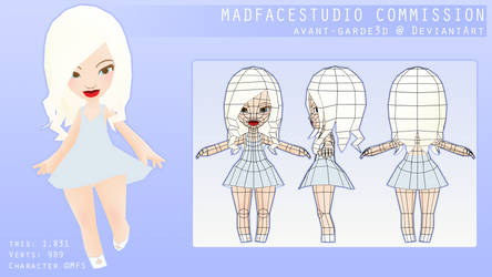 Lowpoly Dolly - MFS [ Commission ]