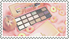 peach aesthetic stamp 2 by PeachMilk3D
