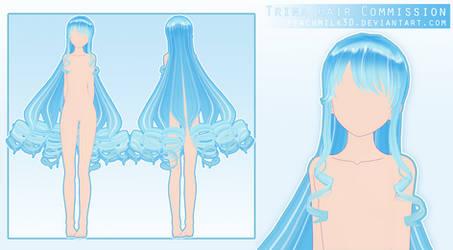 Trina Hair [ Commission ]