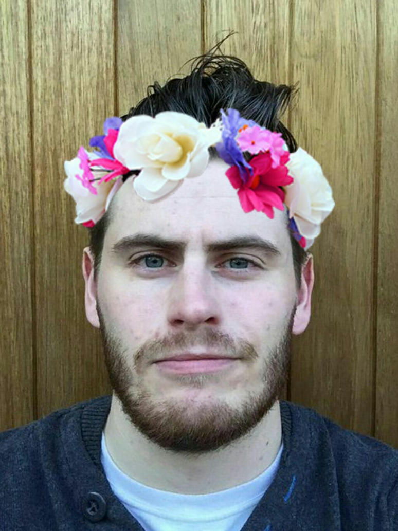 Flower Crown Edit 3 Smol Bean Terrorizer By Unconsciousecho On