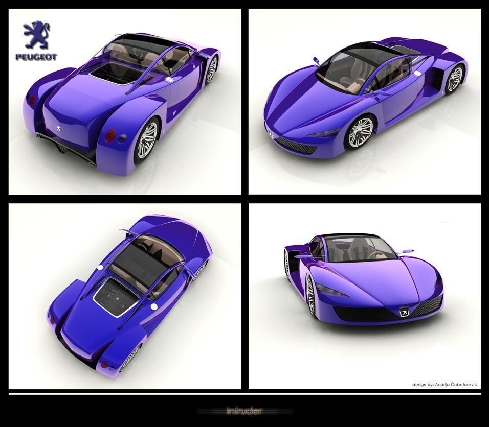 Peugeot Car Wallpaper: Peugeot Intruder Concept Car By PasMater On DeviantArt