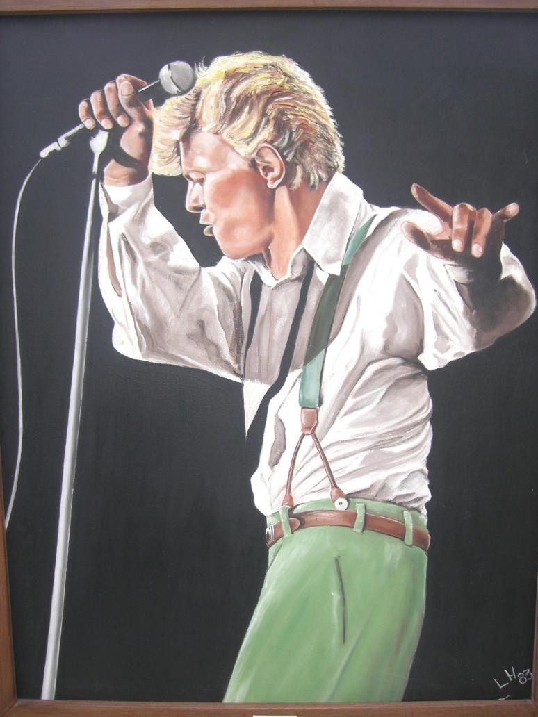 David Bowie by LeoHurenkamp